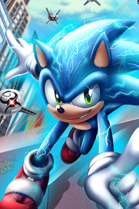 1280x2120 Sonic The Hedgehog 4k 2020