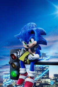 1280x2120 Sonic The Hedgehog 4k 2020 Movie