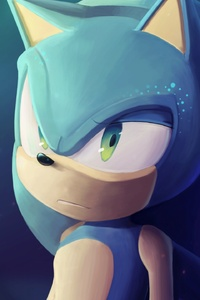 320x480 Sonic The Hedgehog Art