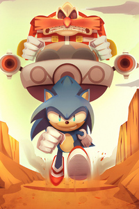 Sonic The Hedgehog Artwork