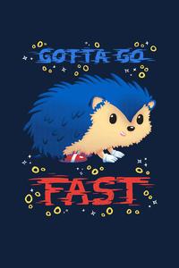 750x1334 Sonic The Hedgehog Minimal Art 4k