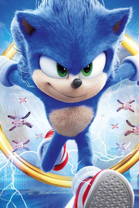 1440x2960 Sonic The Hedgehog Movie New