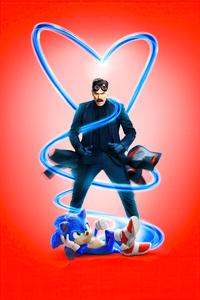 Sonic The Hedgehog Movie Poster 4k