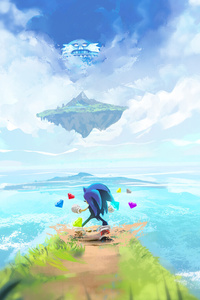 1080x2280 Sonic The Hedgehog4k