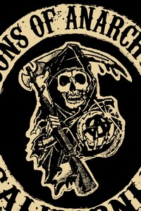 1125x2436 Sons Of Anarchy