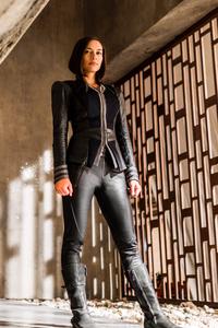 Sonya Balmores As Auran In Inhumans