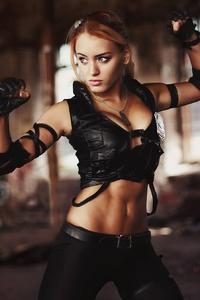 Sonya Blade Mortal Kombat Cosplay