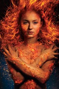 480x800 Sophie Turner In X Men Dark Phoenix 2018