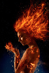 Sophie Turner X Men Dark Phoenix Poster 2018