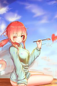 640x960 Soulworker Anime Girl 4k