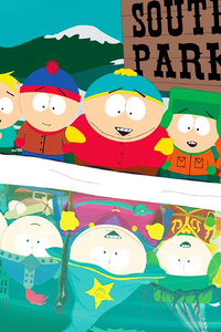640x1136 South Park School Boys