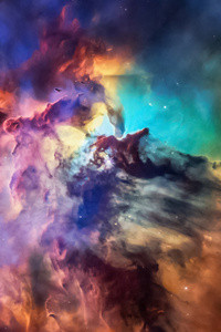 1440x2960 Space Colorful Art 4k