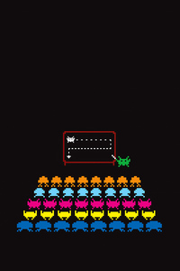 720x1280 Space Invaders