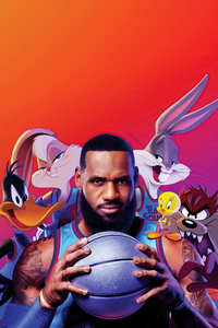 320x568 Space Jam A New Legacy 2021 5k