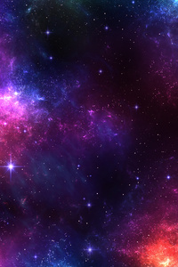 Space Scape Colourverse 4k