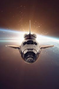 320x568 Space Shuttle