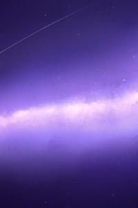 240x400 Space Stars Nebula 4k