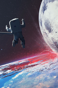 Space Station Error 4k