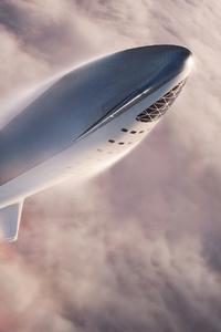 Space X Rocket 4k