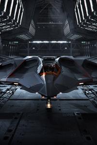 1080x1920 Spaceship Star Citizen 4k
