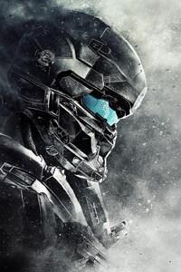 480x854 Spartan Locke Halo 5