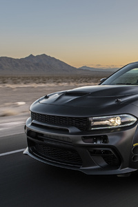 SpeedKore Dodge Charger AWD Twin Turbo Carbon 2019 4k