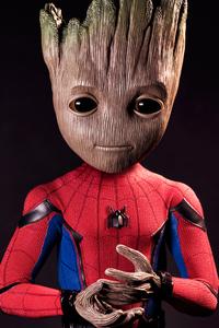 720x1280 Spider Groot