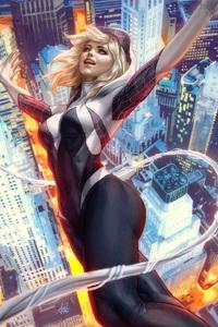 Spider Gwen Art 4k