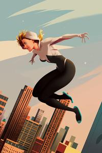 Spider Gwen Artwork 4k