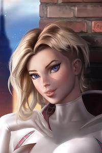Spider Gwen Fantasy Art