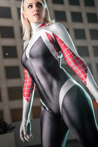Spider Gwen Stacy 4k Cosplay