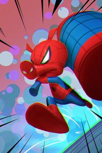 320x480 Spider Ham Arts