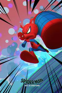 720x1280 Spider Ham Spiderman 4k