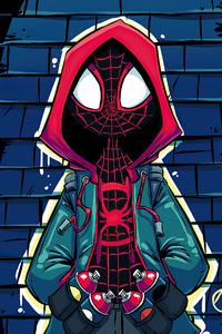 480x800 Spider Man 2020 Art