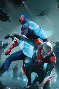 Spider Man 2099 Artwork 4k