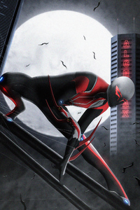 Spider Man 2099 Francesco Mattina Recreation