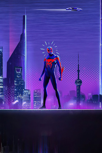 1440x2560 Spider Man 2099 Spider Verse