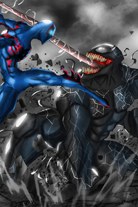 Spider Man 2099 Vs Venom