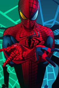 240x320 Spider Man 8k 2020