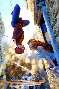 Spider Man And Gwen
