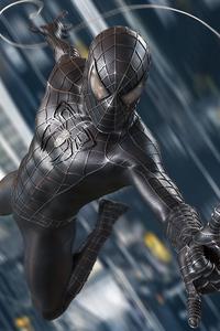 2160x3840 Spider Man Black Symbiote Suit 4k