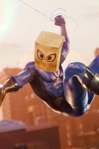 Spider Man Bombastic Bag Man Suit 4k