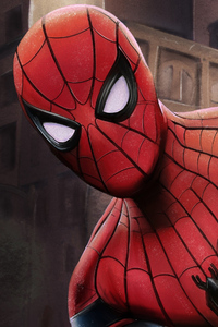 Spider Man Closeup