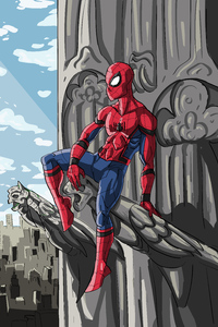 Spider Man Comic Art 5k