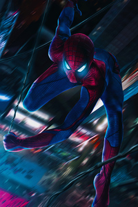 800x1280 Spider Man Coming 4k