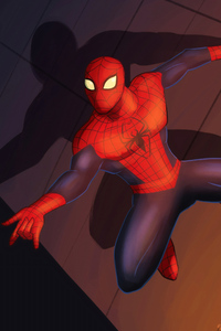 2160x3840 Spider Man Digital Art 4k