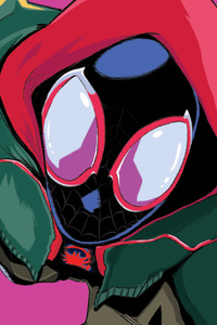 480x800 Spider Man Entered To Spiderverse