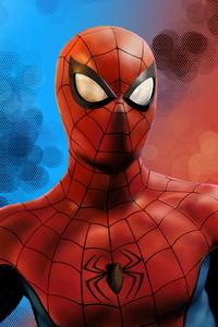 240x400 Spider Man Fanart 4k