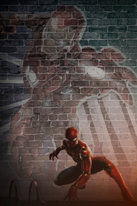 320x568 Spider Man Far From Home 2019 4k