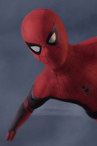 750x1334 Spider Man Far From Home Art